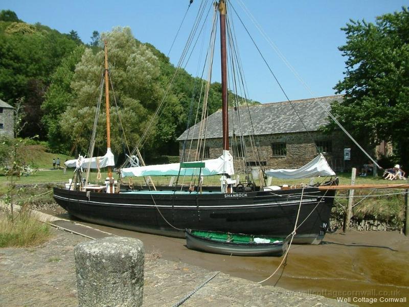 cotehele boat