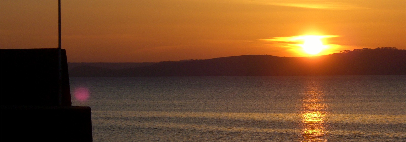 Sunset at Polkerris